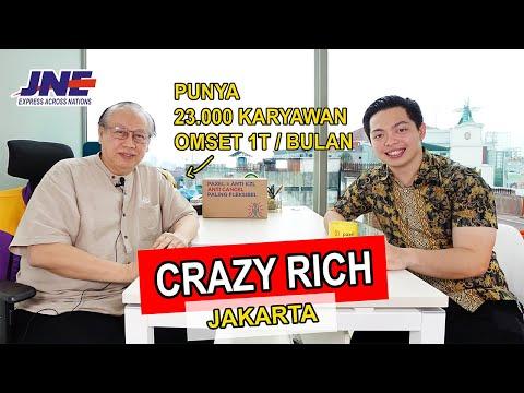 Crazy Rich Jakarta, Punya 23.000 Karyawan 1 Juta Paket Setiap Hari Dari Modal 25jt - Part 1