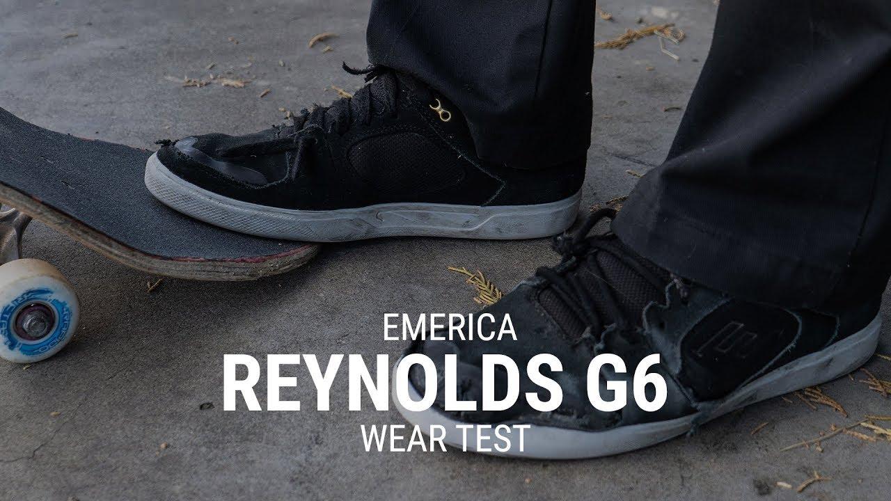 Emerica Reynolds G6 Skate Shoe Wear Test Review - Tactics - YouTube f4959b97b