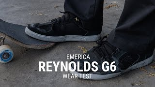Emerica Reynolds G6 Skate Shoe Wear