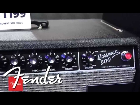 Fender Bassman 500 Head Demo