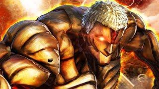 Transforming into a Titan in Anime Fighting Simulator Roblox