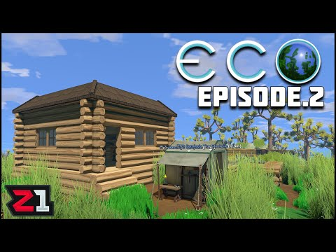 Finishing the HOUSE and Expanding our City ! Eco Episode 2 | Z1 Gaming