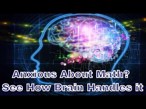 Anxious About Math? Your Brain May Handle Simple Problems Differently