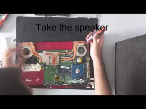 MSI GE62 2QD Apache Pro Disassembly