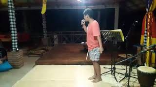 Live performance at homestay