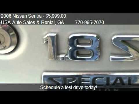 2006 Nissan Sentra 1.8 S for sale in Lawrenceville, GA 30044