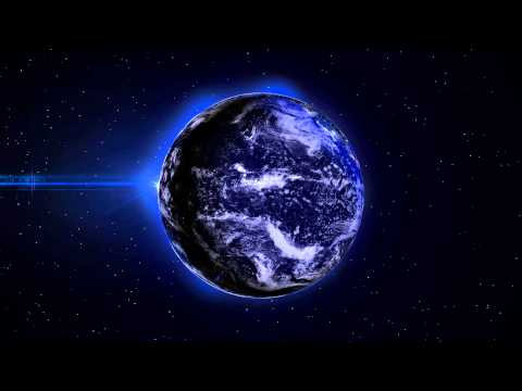 4K EARTH at Night LIGHTS - 1Min Loop - 3D Background Animation