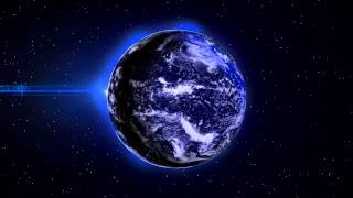 4K EARTH at Night LIGHTS  1Min Loop  3D Background Animation