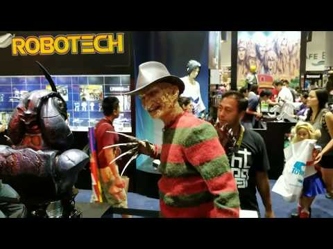 SDCC 2017 ECC Freddy Krueger and Jason