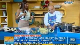 Kitchen Hirit: Bagnet Roll With Asado Sauce | Unang Hirit