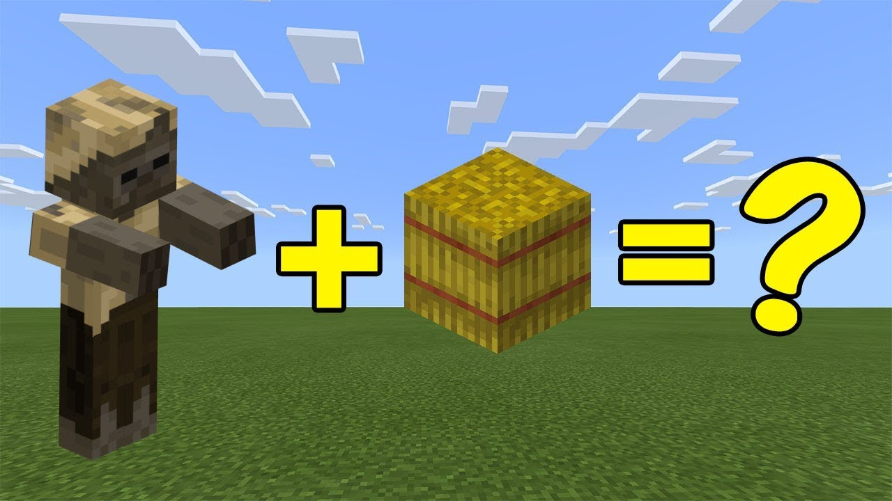 I Combined a Husk and a Hay bale in Minecraft - Here's What Happened