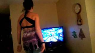 Kinect Amanda Dodgeball