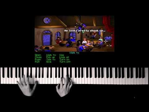 Monkey Island Soundtrack Piano