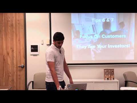 Ravi Parikh - 7 Tips to Bootstrapping Your Small Business