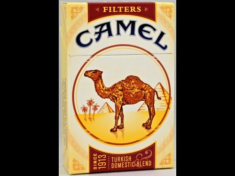 Camel Filter Cigarette Review - YouTube