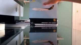 Video Geminijets 1:400 UPS 747-400F (N572UP) Unboxing download MP3, 3GP, MP4, WEBM, AVI, FLV Juni 2018