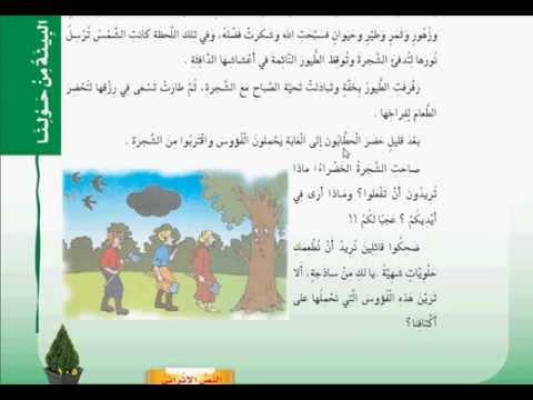 حل كتاب لغتي الصف الخامس الترم الثاني