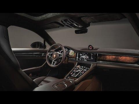Porsche Reveals the Sporty 2018 Panamera Sport Turismo Wagon