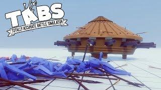 MÁY BẮN ĐÁ SIÊU TỐI TÂN  !! || Totally Accurate Battle Simulator (TABS)
