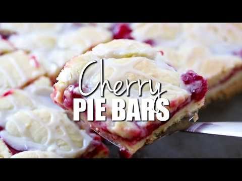 How To Make: Cherry Pie Bars