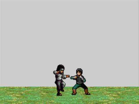 Rock Lee Vs Neji The Rematch Sprite Pivot Youtube