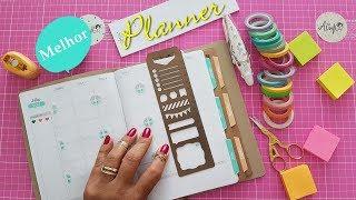Como montar o bloco não datado - planner A.Craft | Viviane Magalhães
