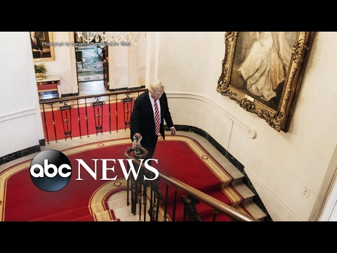 Thumbnail: Trump redecorates White House with gold walls, chandelier