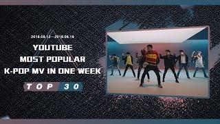 [TOP 30] MOST POPULAR K-POP MV IN ONE WEEK [20180812-20180818]