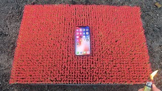 IPHONE X OVER 10 000 MATCHES! Amazing Experiment