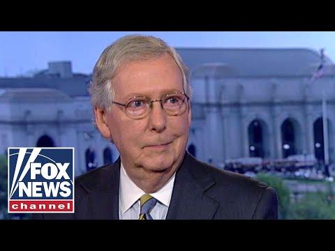 McConnell on 'resistance' op-ed, Kavanaugh hearings