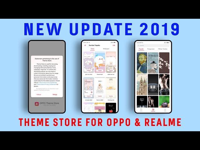 Theme store OPPO & REALME (TERUPDATE) - YouTube