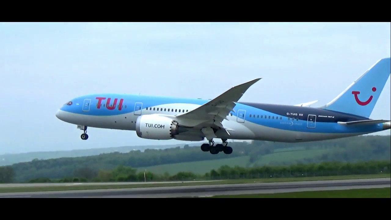 Thomson/TUI 787 Dreamliner Bristol Airport - 7/5/17 - YouTube