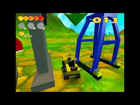 Misc Computer Games - Lego Racers - Menu