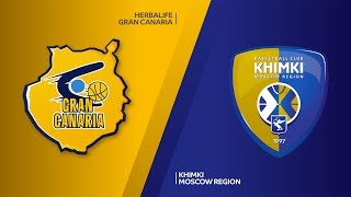 Herbalife Gran Canaria -  Khimki Moscow region Highlights | Turkish Airlines EuroLeague RS Round 16