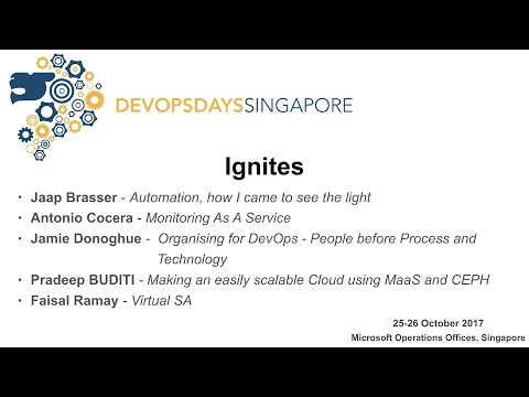 Virtual SA - devopsdays Singapore 2017