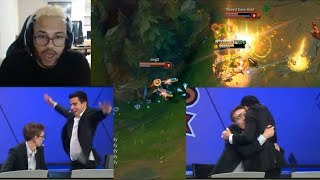 Blonde Aphromoo Outplays Gragas | Maxlore Reaction To G2 Win *HILARIOUS* | Sneaky | LoL Moments