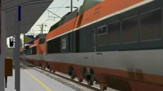 MSTS TGV Railfanning