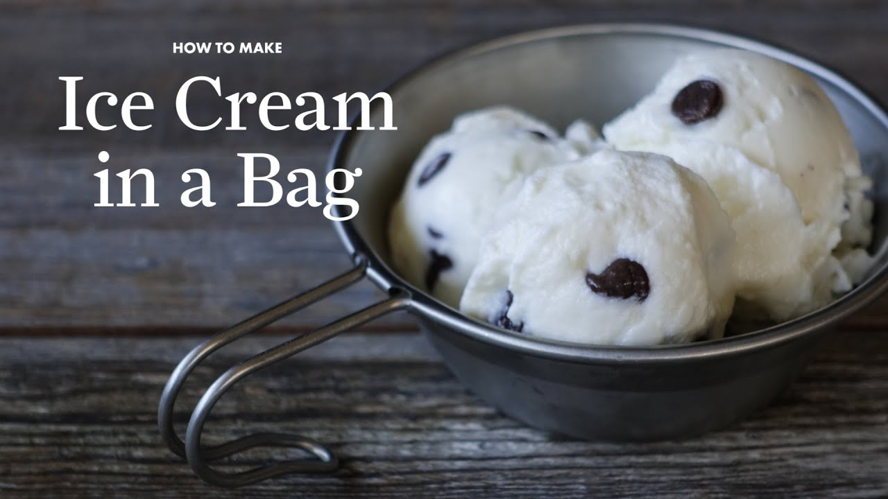 How to make ice cream in a bag sunset youtube ccuart Gallery