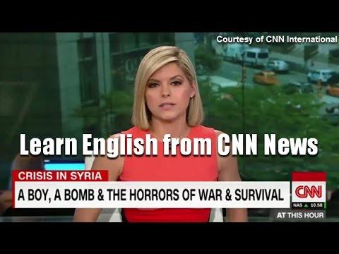 Syrian Boy Rescued -  Learn English from News (ฝึกอังกฤษจากข่าว)