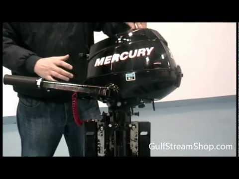 Mercury 2 5hp Outboard Motor Gulfstream Marine Youtube