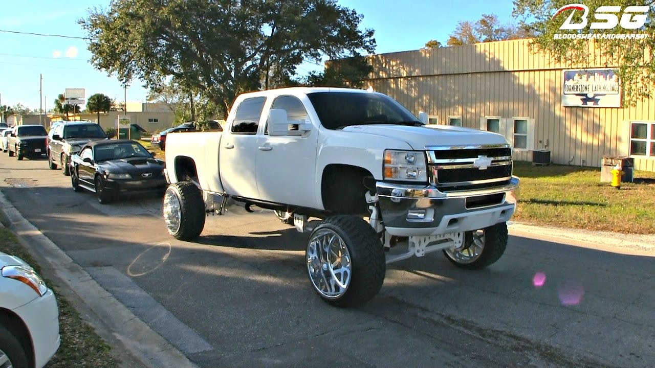 All Chevy chevy 2500hd wheels : Chevy 2500HD Duramax (FTS LIFT) on 26x16 Specialty Forged Rims ...