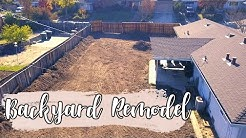 BACKYARD REMODEL! - Phase 1