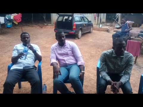John Dumelo meets 2015 Best Farmer for advice on cocoa farming