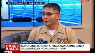 Dayuhang terorista, pinakamalaking banta sa seguridad ng Pilipinas — AFP