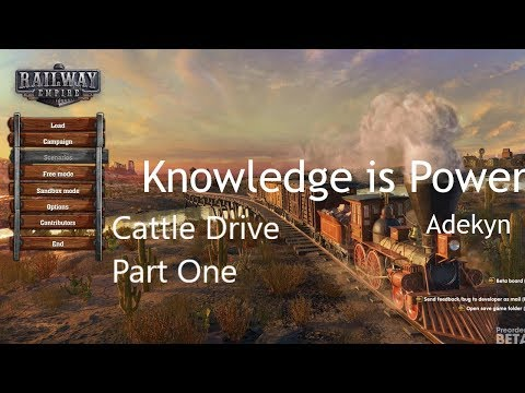 Railway Empire The Cattle Drive Part One