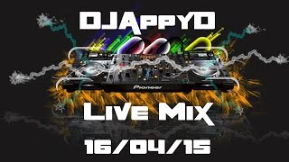 Live Mix - DJAppyD - UK (Happy) Hardcore - 16/04/15 (With Pioneer XDJ-R1)