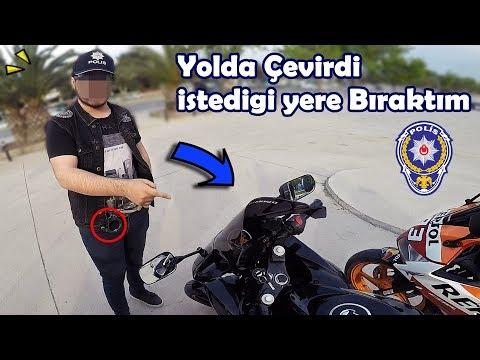 POLİSİ ARTÇI ALDIM 👮 MotoVlog#154