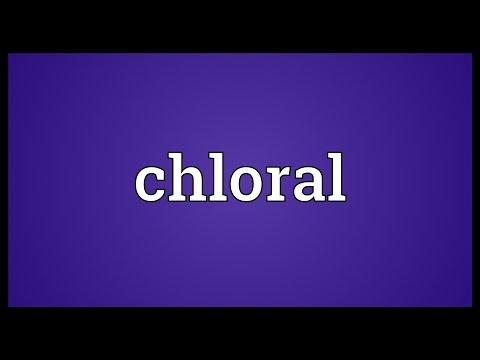 Header of chloral