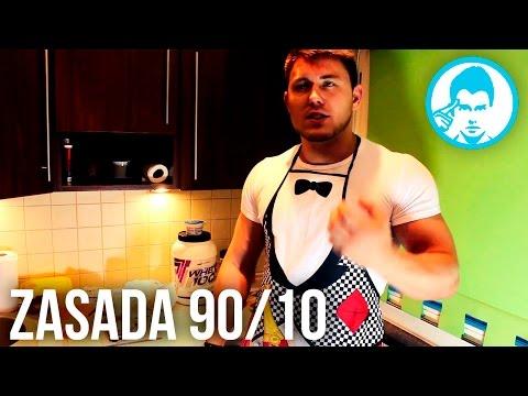 Sekrety Kuchni Mariusza : Zasada 90 % 10 %