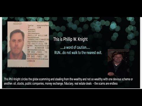 Phillip W Knight Canada